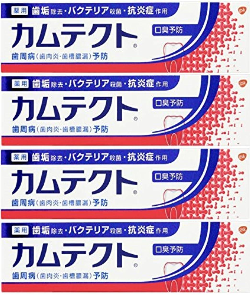 シミュレートするブレーキどうやって【まとめ買い】カムテクト 口臭予防 歯周病(歯肉炎?歯槽膿漏) 予防 歯みがき粉 105g×4個
