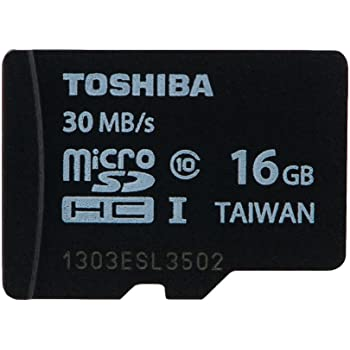 microSDHC 16GB Toshiba 東芝 UHS-I 超高速UHS-1 並行輸入品