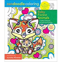 Zendoodle Coloring: Baby Forest Animals: Cuddly Creatures to Color and Display