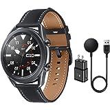 Samsung Galaxy Watch 3 Stainless Steel (45mm) SpO2 Oxygen, Sleep, GPS Sports + Fitness Smartwatch, IP68 Water Resistant, Inte