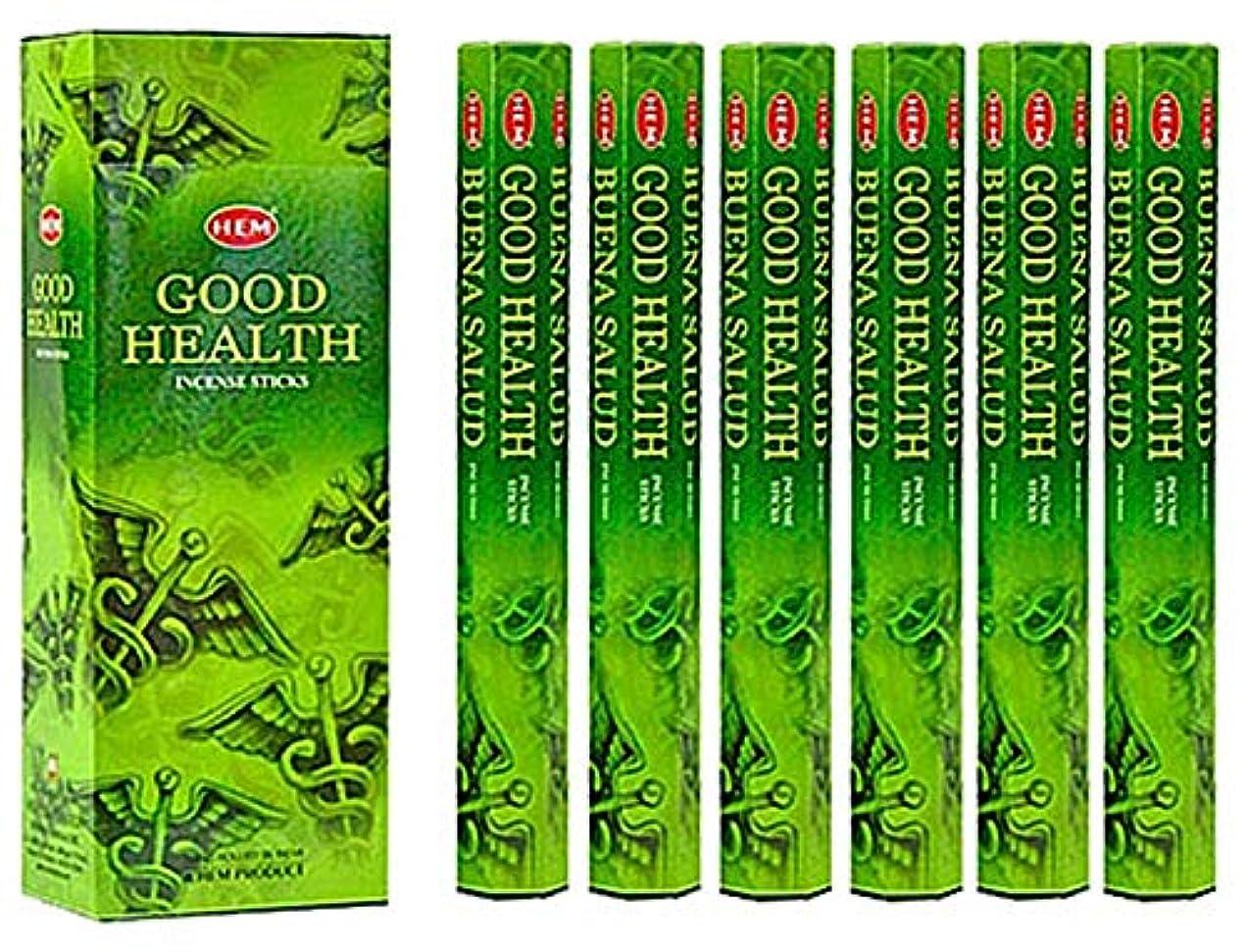 マエストロ純粋なメッセンジャーHEM(ヘム)社 グッドヘルス香 スティック GOOD HEALTH 6箱セット