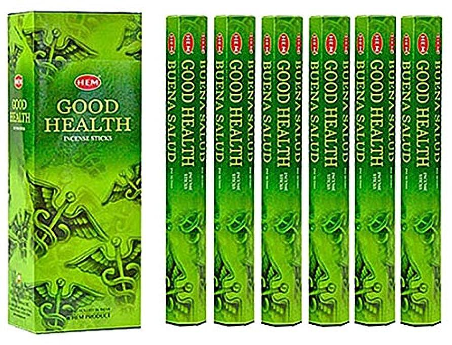 道徳教育ただ特権的HEM(ヘム)社 グッドヘルス香 スティック GOOD HEALTH 6箱セット