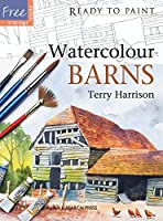 Watercolour Barns (Ready to Paint)