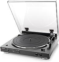 DENON アナログレコードプレーヤー USB録音机能/フルオート ブラック DP-200USB-K