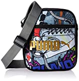 プーマ キャンパス Puma Campus Portable Shoulder Bag Black/Graffiti 074164 02