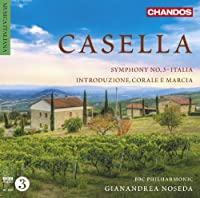 Casella: Orchestral Works [Gianandrea Noseda, BBC Philharmonic] [Chandos: CHAN 10768] by BBC Philharmonic (2013-06-06)