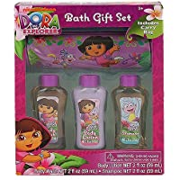 Dora the Explorer Bath Gift Set by Nick Jr [並行輸入品]