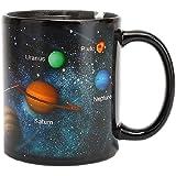 【morningplace】 惑星 マグカップ 色が変わる 素敵 デザイン 太陽系 プレゼント 贈り物 に (タイプA…
