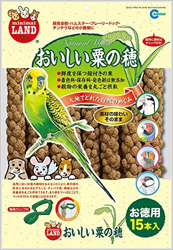 マルカン おいしい粟の穂 お徳用 15本入 MR-836