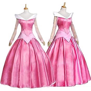f4eb275e93cef monoii オーロラ姫 コスプレ 衣装 ハロウィン 眠れる森の美女 プリンセス コスチューム ドレス 467
