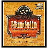 GHS Strings A270 Phosphor Bronze Mandolin Strings Medium (.011-.040) [並行輸入品]
