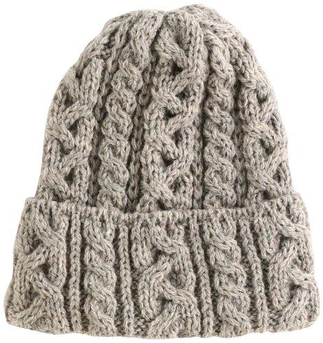 [ハイランド2000] ニット帽 HL-2 メンズ New Natural UK F-(FREE サイズ)