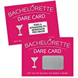 Bachelorette Dare Card Party Game, 20 Scratch Off Cards, Bachelorette Party Ideas, Girls Night Out Activity, Bridal Party Gam