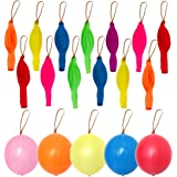 36 Pcs 18 Inch Punch Balloons,Punching Balloon with Rubber Band Handle,Assorted Colors Punch Balls for Kids Party Favors,Gift