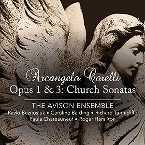 Opus 1 & 3-Church Sonatas
