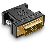 UGREEN DVI VGA変換アダプタ オス-メス DVI-I 24+5 1080P 金メッキ (DVI-I 24+5)