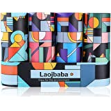 Laojbaba Car Tissues (4 Canisters/200 Tissues/3-Ply) - Disposable Face Towel,Canned Tissue,Perfect For Car Cup Holder,Durable