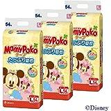 【ケース販売】マミーポコ テープ Lサイズ 54枚×3個
