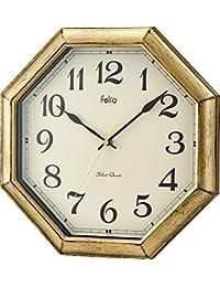 Felio(フェリオ) 壁掛け時計 ロートレック アナログ表示 ゴールド FEW179GD