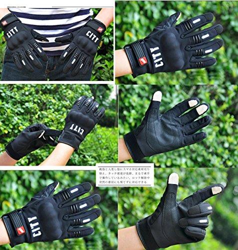 (ウニヤ)UNIYA® バイク グローブ アウトドアグローブ 自転車 登山 グローブ 防災 作業 防寒手袋 スマホ タッチパネル対応 車用品 バイク用品 防風・保温 (XL)