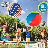 H2OGo 巨大ビーチボール 2個パック 両方のビーチボールは5フィート