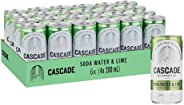 Cascade Lime And Soda Water Multipack Mini Cans 24 x 200mL