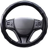 【Amazon限定ブランド】 ZATOOTO ハンドルカバー 軽自動車 sサイズ ステアリングカバー 3Dグリップ滑り止…