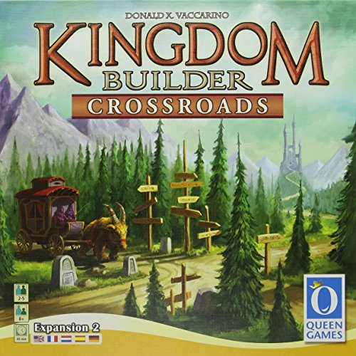 キングダムビルダー拡張セット 十字路 (Kingdom Builder: Crossroads) ボードゲーム