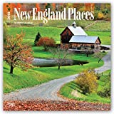 New England Places 2018 Calendar