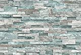 サンゲツ 壁紙35m モダン 石目 ブルー 石・塗り・タイル RE-2609