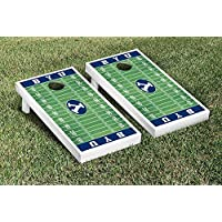 Brigham Young Cougars regulation Cornhole Game Setフットボールフィールドバージョン