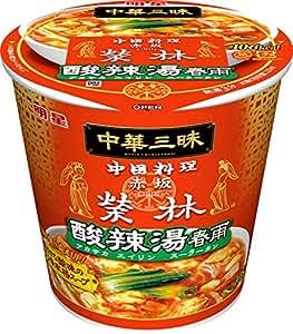 明星 中華三昧 赤坂榮林 酸辣湯春雨 30g×6個