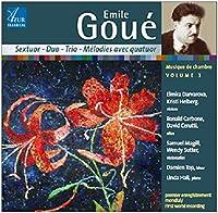 Emile Goue: Chamber Music 3
