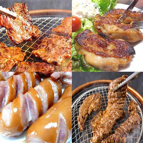 バーベキュー BBQ 牛肉 豚肉 鶏肉 ソーセージ 焼肉 2.8kg
