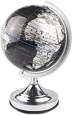 ESTAMICO インテリア地球儀 球径20cm 英語表記 世界地図 書斎 オシャレ 知的 大人 子供用 小学生 入学ギフト