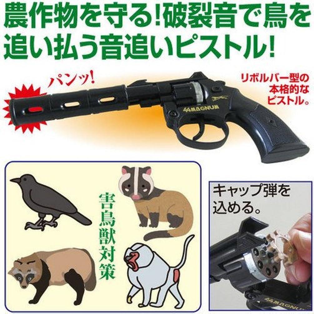 女の子選択する行き当たりばったり日本製 害鳥獣対策「音追いピストル」