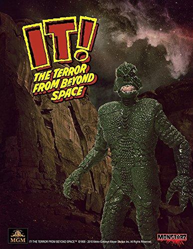 Monstarz モンスターズ/ 恐怖の火星探検: ザ・テラー 火星の吸血獣 3.75インチ レトロ アクションフィギュア エイリアングリーン ver