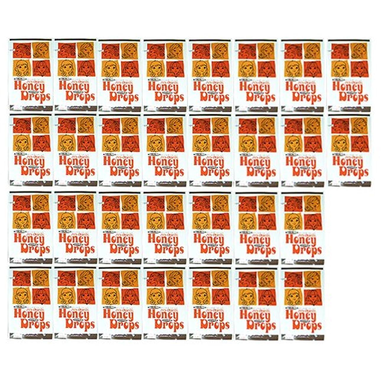 温帯スノーケル豊かなハニードロップス(Honey Drops) 20ml 使い捨て潤滑ローション D柄 × 30個入