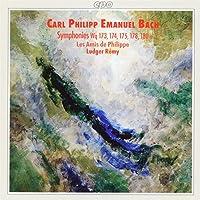C.P.E.バッハ:交響曲集
