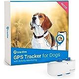Tractive GPS Dog 4 Pet Tracker, Black/White