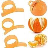 Pichidr-JP オレンジピーラーマウス型 3個セット オレンジピーラー 皮抜き 簡単皮むき オレンジ皮抜き