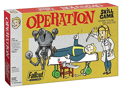 USAopoly Fallout S.P.E.C.I.A.L. Edition Operation Board Game