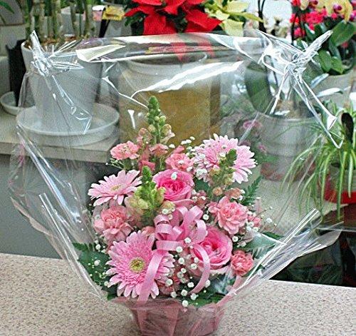 華やかな花 フラワーアレンジメント(生花) ピンク系 お祝い・お誕生日・お礼・送別などのプレゼント・花ギフトに