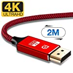 4K HDMI Cable 3m,Capshi High Speed 18Gbps HDMI 2.0 Cable,4K, 3D, 2160P, 1080P, Ethernet - 28AWG Braided HDMI Cord - Audio...