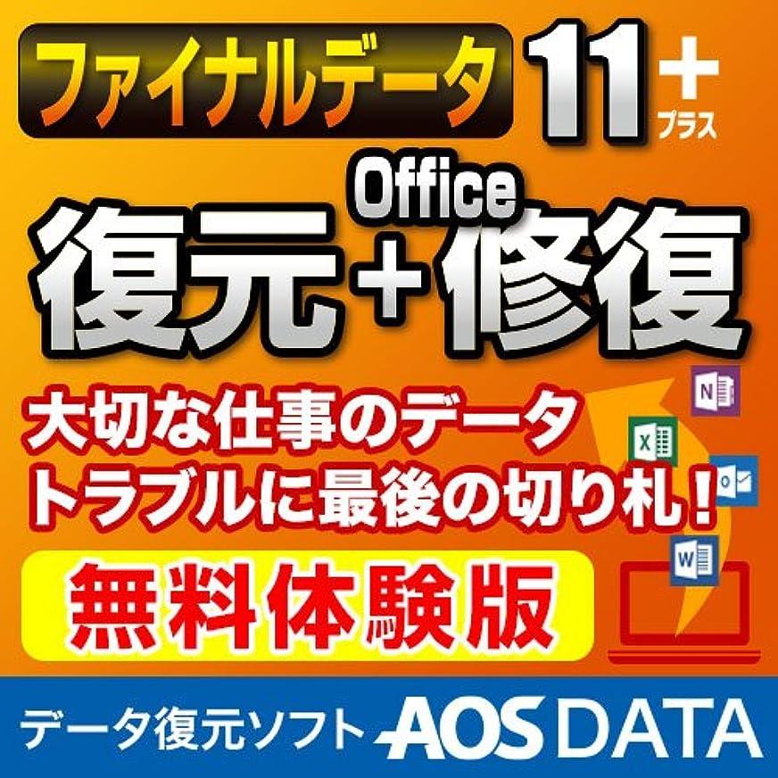 取得誤解させる匿名【体験版】ファイナルデータ11plus 復元+Office修復 ダウンロード版 ダウンロード版