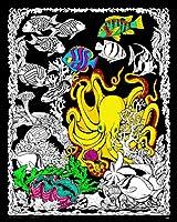 Octopus den–Fuzzyポスター–16x 20インチ