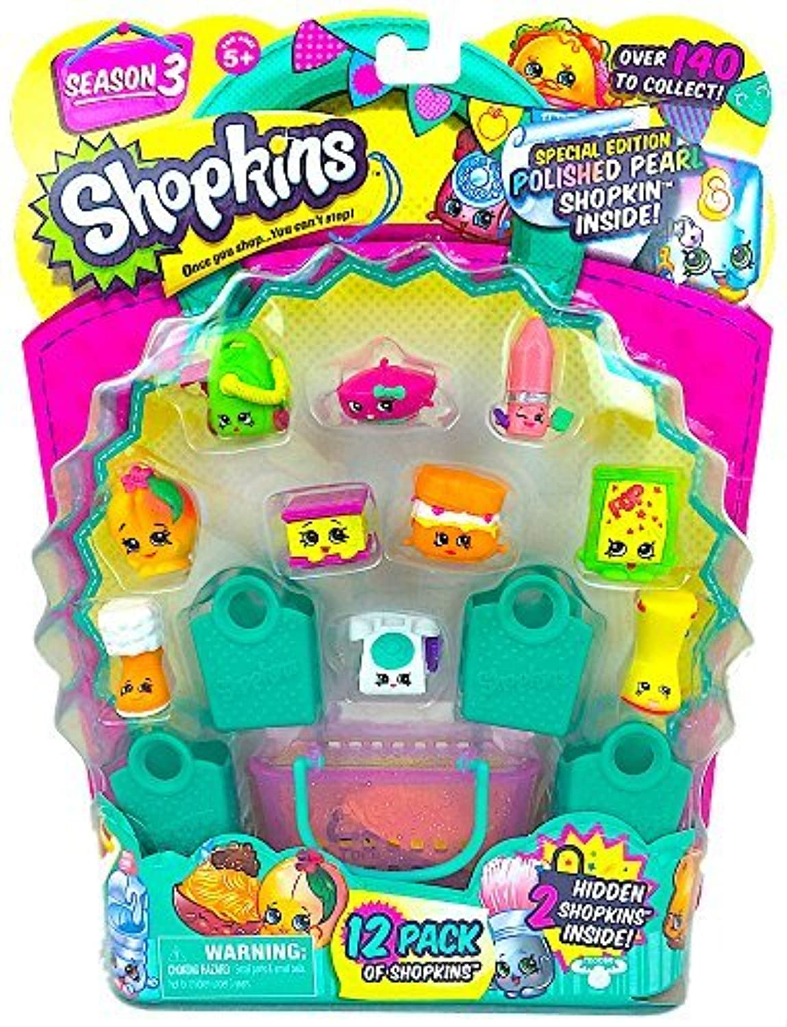 Shopkins Season 3 (12 Pack) Set 18 [並行輸入品]