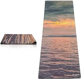 Yoga Design Lab (ヨガデザインラボ) ヨガマット 厚さ1mm トラベルマット 軽量 折りたたみ ストラップ付 トレーニング ピラティス フィットネス エクササイズマット