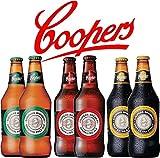 オーストラリアのプレミアムビール クーパーズ/Coopers3種6本飲み比べセット 専用ギフトボックスでお届け