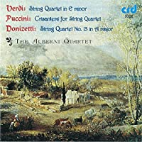 String Quartet in E Minor by DONIZETTI / VERDI / PUCCINI (2009-05-01)